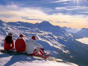 Величие горнолыжных курортов Швейцарии