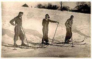 Из истории горнолыжного спорта
