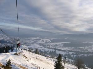 Ворохта – рай для начинающих лыжников в Карпатах