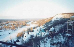Горнолыжный спуск + экскурсия по Славяногорске
