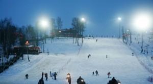 Российский горнолыжный курорт Волен