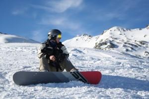 Райский уголок для сноубордистов в Финляндии