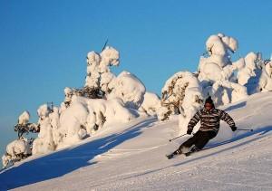 Незабываемый отдых в заснеженной Финляндии
