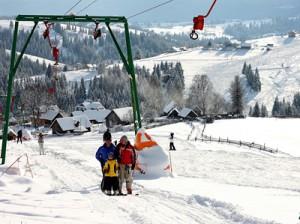 Незабываемый зимний отдых на горнолыжном курорте «Яблуница»